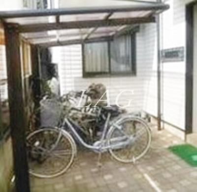 駐輪スペースになります。