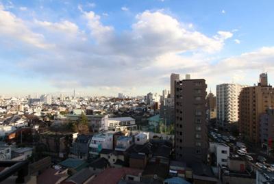 【展望】朝日シティパリオ西巣鴨