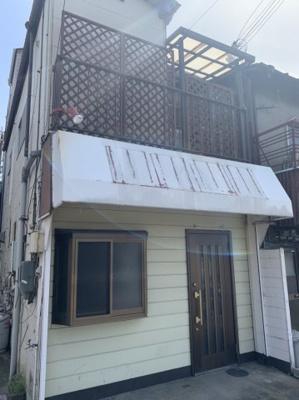 【外観】南初島店舗付き住宅