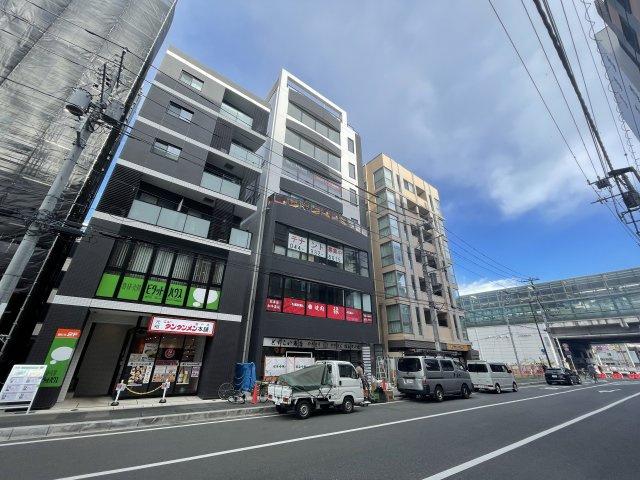 ※外観パース※小田急線「登戸」駅前の好立地♪2021年10月完成予定の新築7階建てテナントビルです!