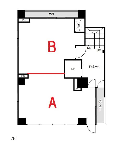 事務所・物販・サービス業向けの40m2のテナントスペースです♪オシャレでこだわりのある空間にしたい方にオススメなスタジオタイプで、レイアウト自由自在です!