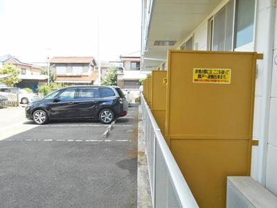 【外観】レオパレスブルーファン