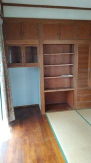 1階和室6畳・2畳のフローリングがありますので広く見えます!