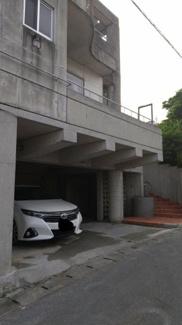 駐車場①:駐車スペースは2つあります!