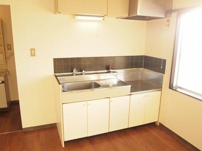 【キッチン】乙木ハイツB