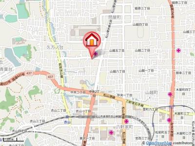 【地図】プランドール凛 B棟