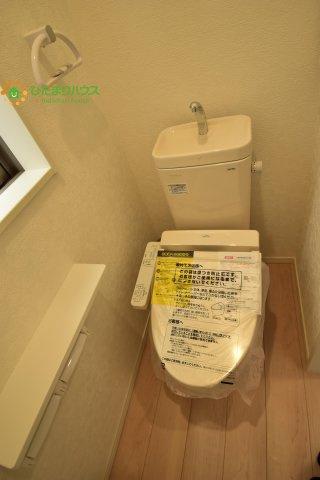 【トイレ】蓮田市西新宿 第7 新築一戸建て クレイドルガーデン 03