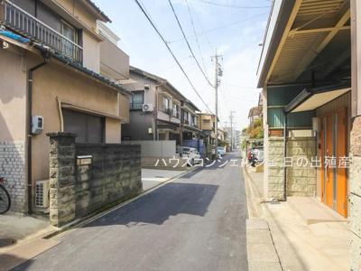 【前面道路含む現地写真】名古屋市中村区向島町4丁目19-3【仲介料無料】新築一戸建て