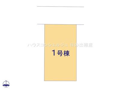【区画図】名古屋市中村区向島町4丁目19-3【仲介料無料】新築一戸建て