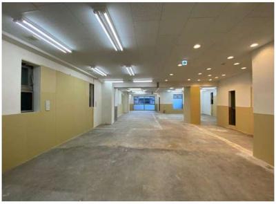 【内装】宮前平駅徒歩2分 貸店舗事務所 スケルトン