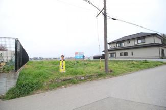 【外観】蓮田市貝塚 資材置き場用地 JR宇都宮線『白岡駅』徒歩27分