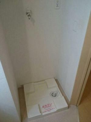 洗濯機置場☆