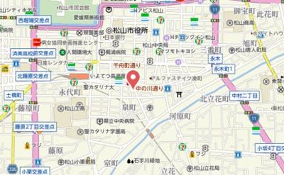 【地図】アリスト柳井町