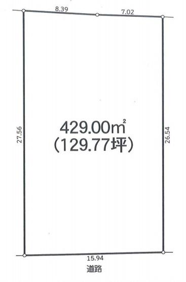 【土地図】売地 平塚市河内