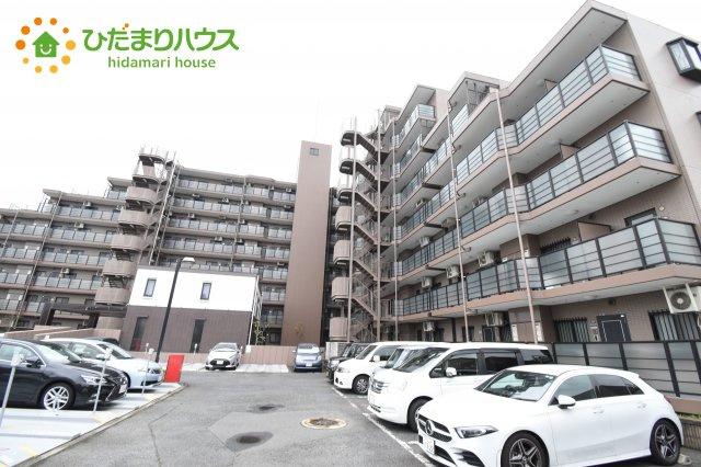 【外観】鴻巣市東1丁目 中古マンション コスモ鴻巣ロイヤルフォルム