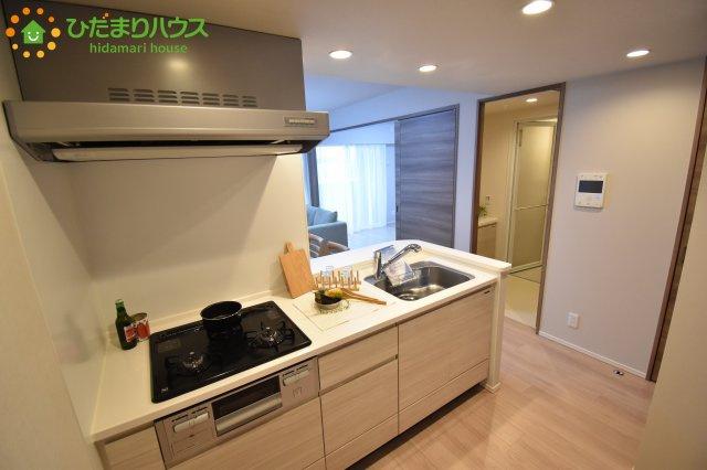 キッチンもしっかりスペースが確保されています!