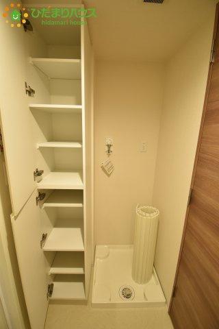 洗剤やタオルなどの収納に便利な洗面所収納☆彡