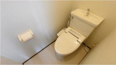 【トイレ】ハイツスガヌマ