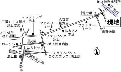 【地図】オーラヴァン池上