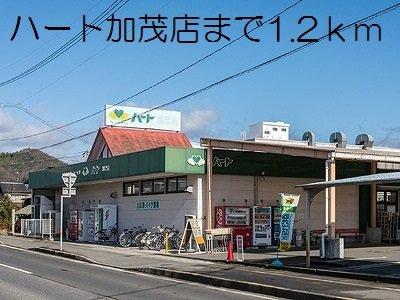 ハート加茂店まで1200m