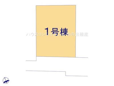 【区画図】名古屋市南区内田橋1丁目1112【仲介手数料無料】新築一戸建て