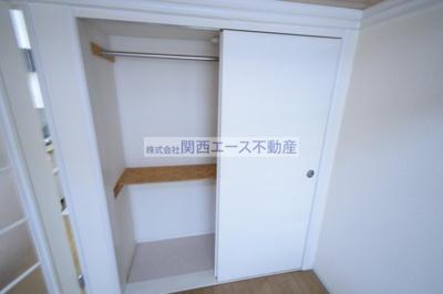 【収納】レオパレス瓢箪山第3