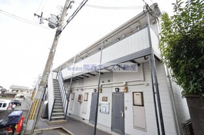 【外観】レオパレス瓢箪山第3