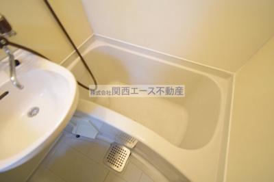 【浴室】レオパレス瓢箪山第3