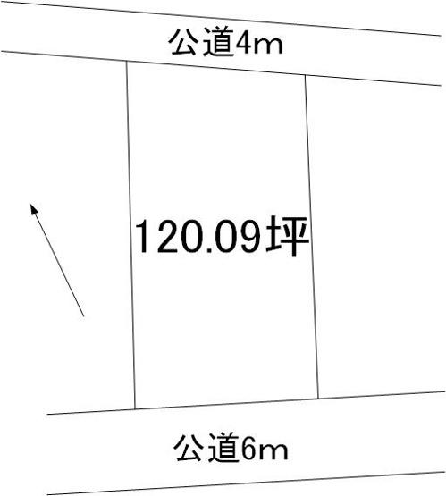 【土地図】見川2丁目土地