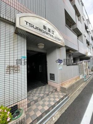 【エントランス】新深江ツリガミビルパートⅡ 仲介手数料無料