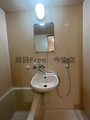【洗面所】新深江ツリガミビルパートⅡ 仲介手数料無料