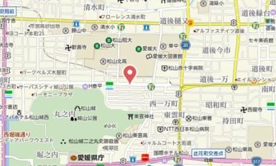 【地図】土井ビル