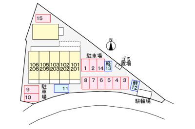 【区画図】ツインコートA