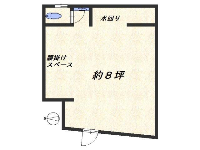 【外観】1階店舗 飲食可 同心 天満駅