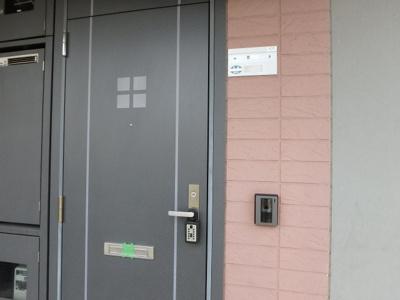 【玄関】プチプラージュB棟