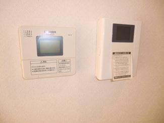 イメージ画像になります。 電気温水器リモコン、モニター付きインターホン