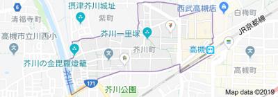 【地図】メゾン高槻