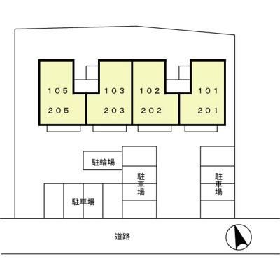 【区画図】シャルマン八千代