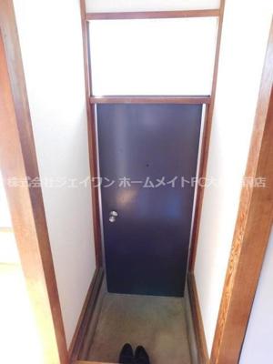 【玄関】西鎌倉ハイツ