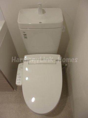 ジオエント三ノ輪の落ち着いたトイレです