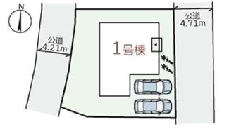 【区画図】高槻市南平台4丁目