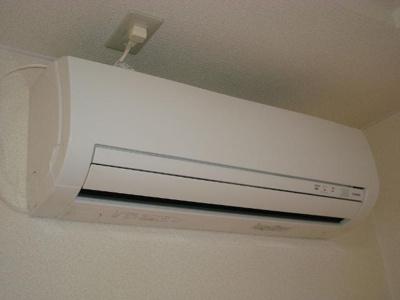 嬉しいエアコン付