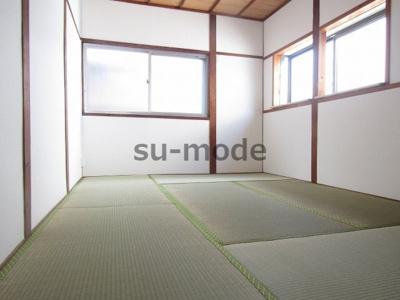 【寝室】富田丘町テラスハウス