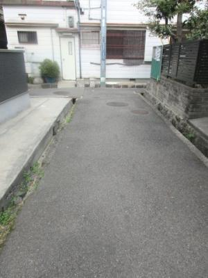 【前面道路含む現地写真】須磨区須磨寺1丁目中古戸建
