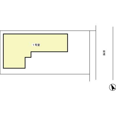 【区画図】美園貸家
