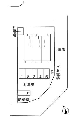 【区画図】グレイス KAZU