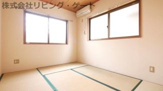 和室6帖。色々な使い方ができますね。