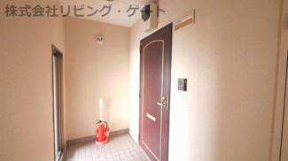 お部屋の玄関口です。