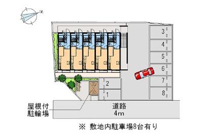 【駐車場】レオパレスコンステラション(41990-204)
