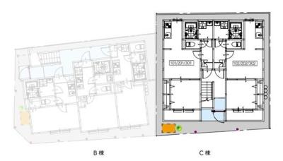 【区画図】T.A足立区足立2丁目ⅡC棟